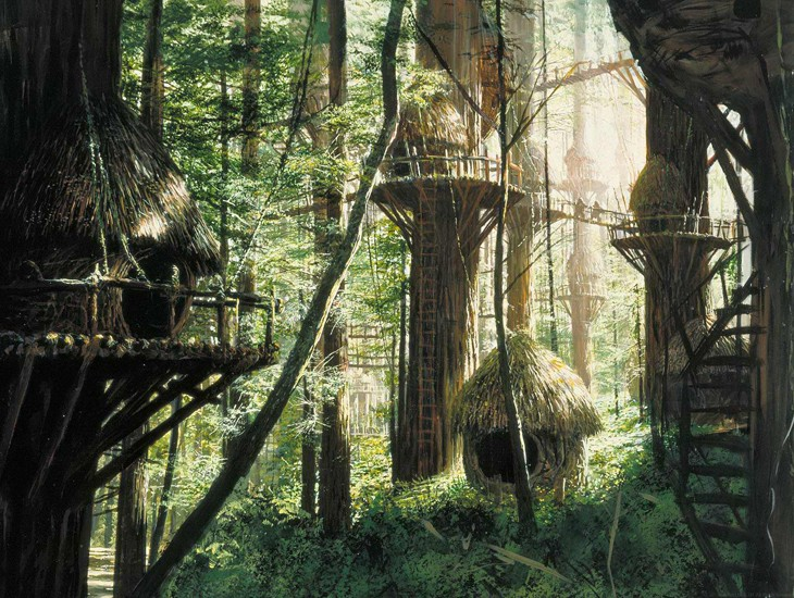 Cambio de facción - Muerte de Saarth y la llegada de los Wookies a Endor [Relan] Endor