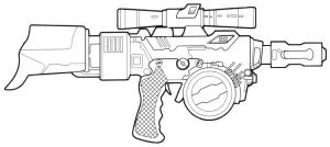 Rifle Blaster Westar- M5