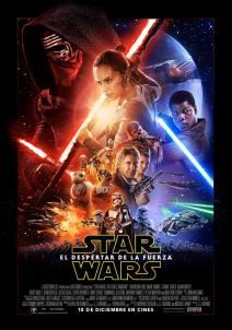 Cartel star wars el despertar de la fuerza