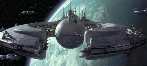 Nave de control droide clase Lucrehulk