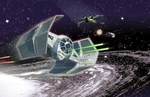 TIE avanzado de Darth Vader