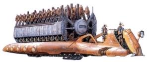 Transporte de droides de batalla