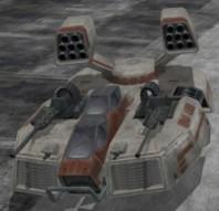 Tanque Repulsor lanzamisiles
