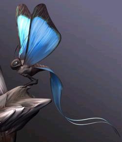 Mariposa mensajera