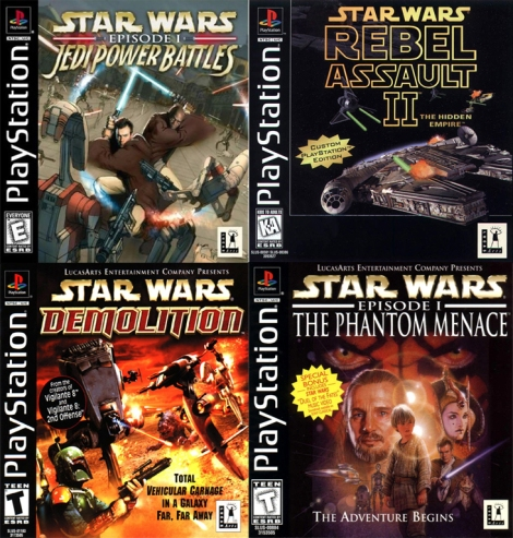Star wars playstation 1