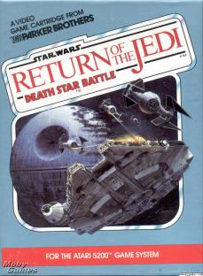 Atari 5200. Return of the jedi