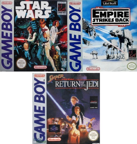 Gameboy. Star Wars