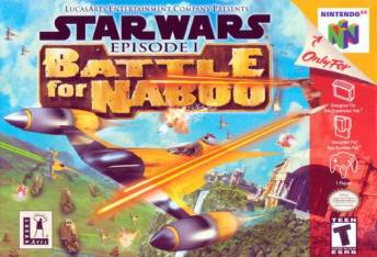 N64 Star Wars batlle for Naboo