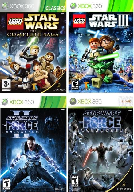 Xbox 360  Star Wars (1)