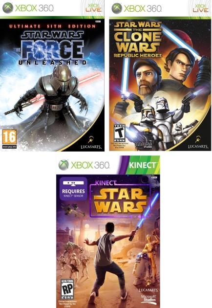 XBox 360 Star Wars (2)