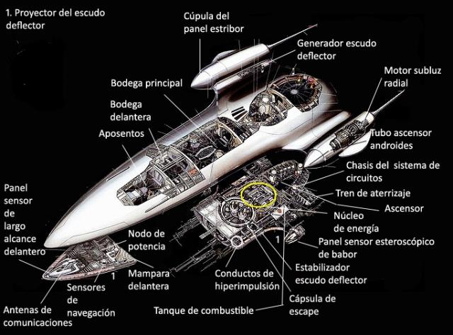 Crucero Reina de Naboo